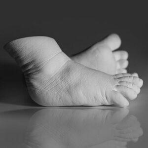3d Baby Fußabdruck Set