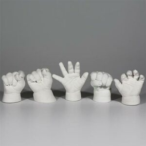 3d Baby Handabdruck Set