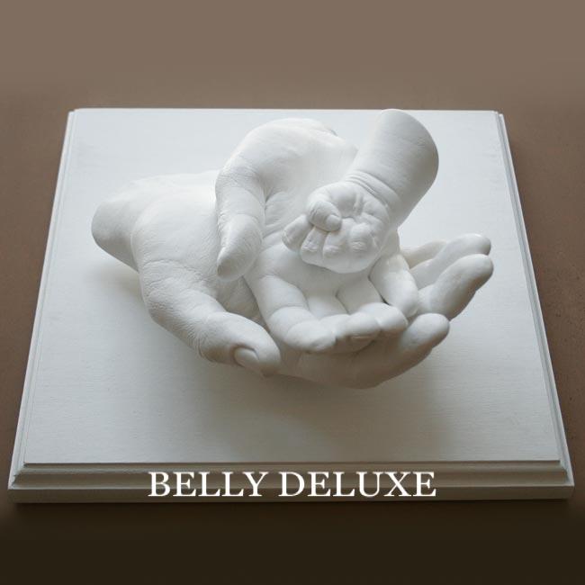 gipsabdruck sockel 26x26cm belly deluxe. Black Bedroom Furniture Sets. Home Design Ideas