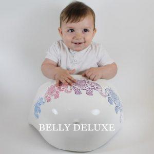 Belly Bowl mit Elefant Motiven