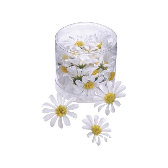 Deko Margeritenblüten 4 Cm