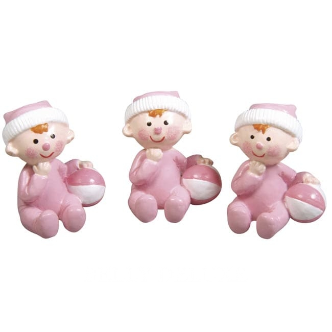 3x mini figur baby 3cm belly deluxe for Baby deko