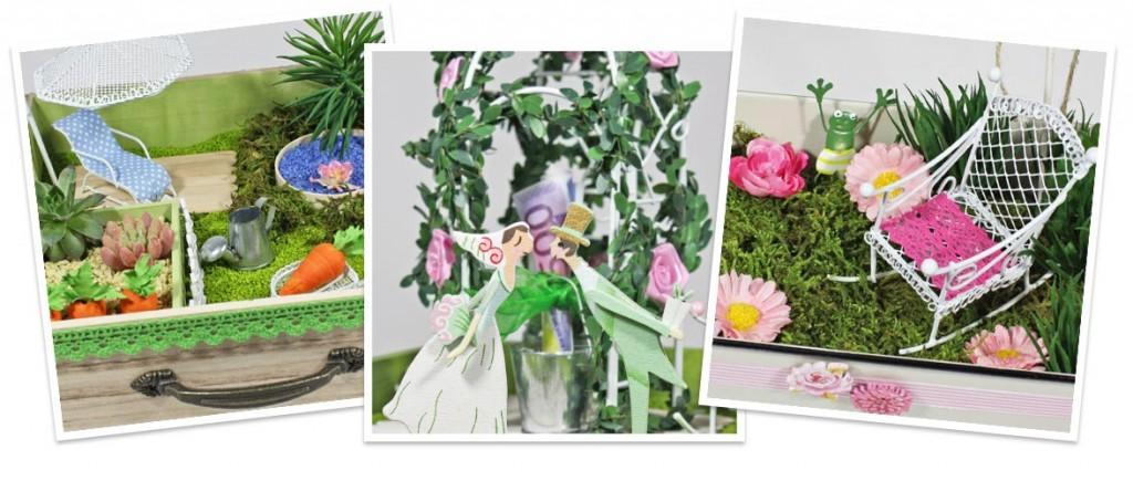 Mini Gardening Zubehor Dekoration Zum Selbermachen Miniatur Garten