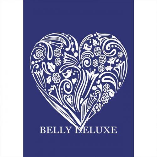 Siebdruck Schablone Herz – Belly Deluxe