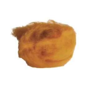 Wolle zum Filzen maisgelb