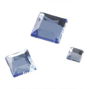 Glasssteine, eckig zum Aufkleben