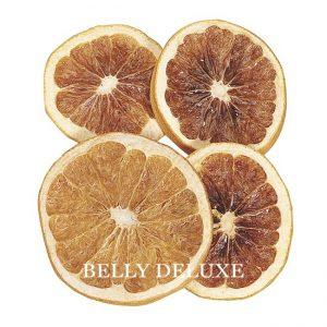 Orangenscheiben, getrocknet als Deko