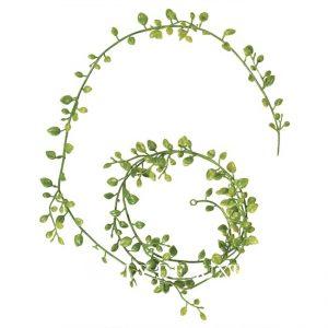 Girlande aus Blättern Kunststoff