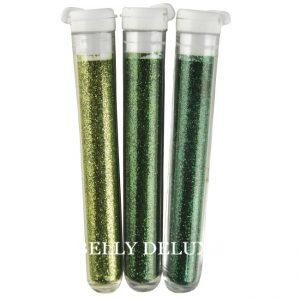 Grüner Feinflitter