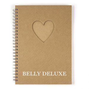 Buch für Notizen mit Herz