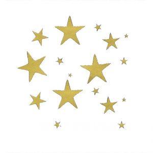 Sterne zum Aufkleben