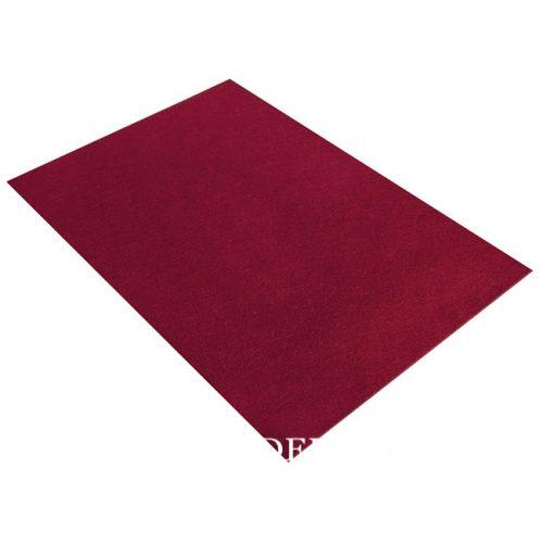 Filzplatte rot
