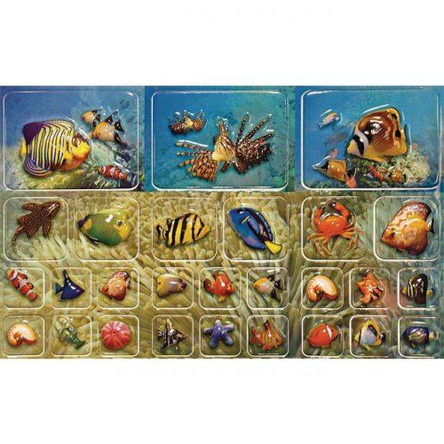 3d Fische zum Aufkleben