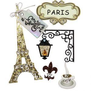 Aufkleber Paris