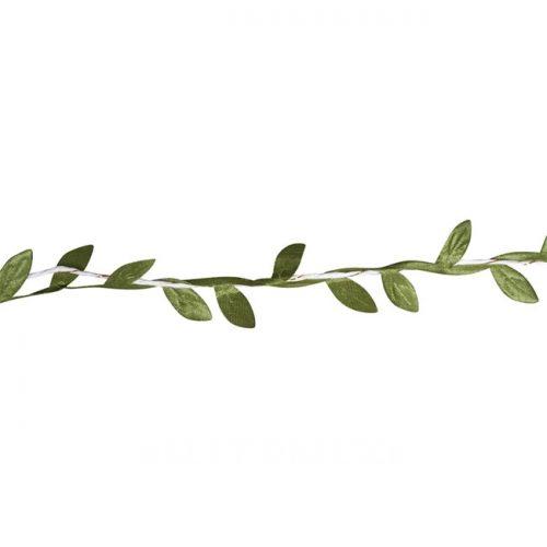 Papierkordel mit Blätterranke