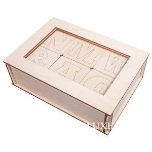 Buchstaben aus Holz