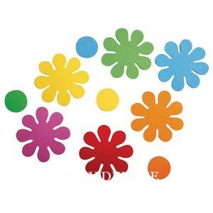 Blumen aus Moosgummi