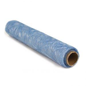 blaue Faserseide