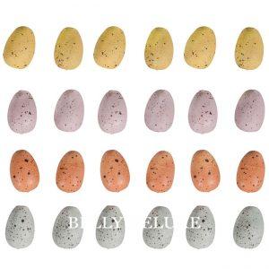 Kleine Eier aus Holz