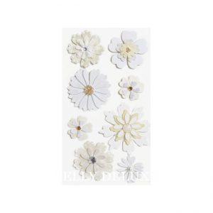 Blüten mit Strass