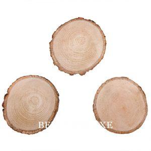 Scheiben aus Holz 10 cm