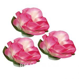 Blueten aus papier rosa