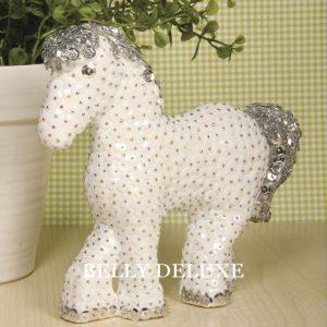 Pferd mit Pailleten