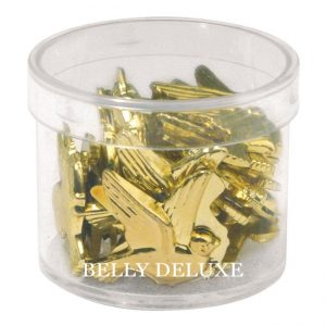 Streuteil Taube gold