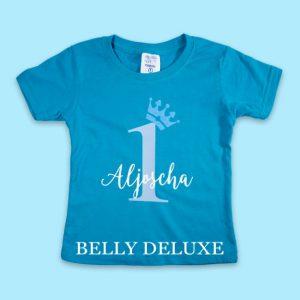 T-Shirt zum ersten Geburtstag Junge