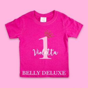 T-Shirt erster Geburtstag Mädchen