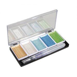 Metallic Wasserfarben mit Aqua Pen