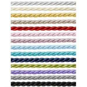 7mm Kordel verschiedene Farben