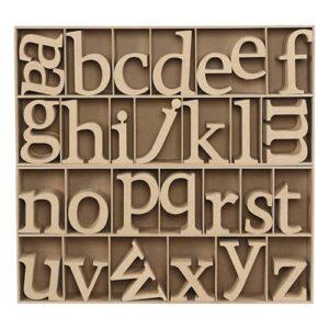 Holz Kleinbuchstaben