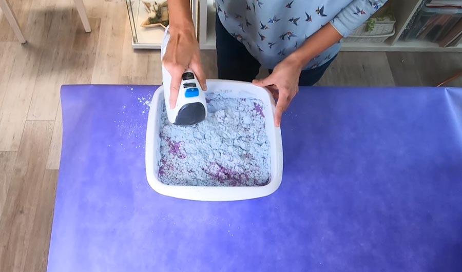Alginat Pulver anmischen