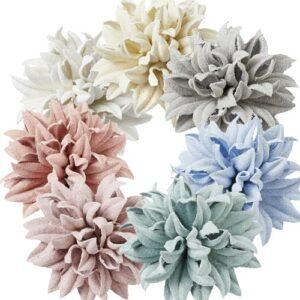 Papierblueten in 7 Farben zur Auswahl