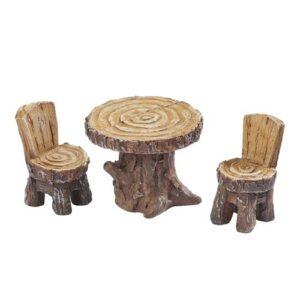 Mini Sitzgruppe Holzoptik