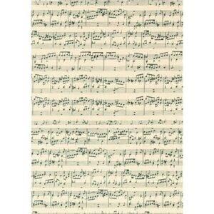Karton Musiknoten