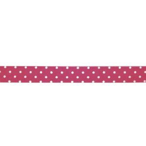 Fabric Tape gepunktet pink