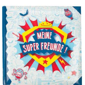 Freundebuch Meine Super Freunde