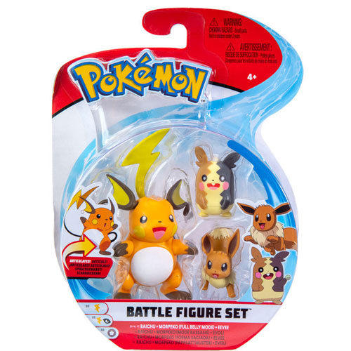Pokemon Battle Set raichu