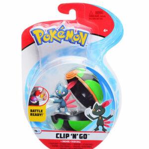 Pokemon clip n go Sniebel