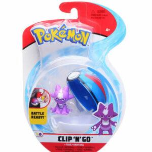Pokemon clip n go toxel
