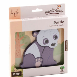 Holzformen Steckpuzzle Panda