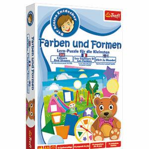 Kinder Lernspiel Farben und Formen