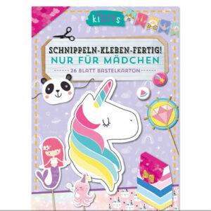 Kreativ Bastelbuch Mädchen