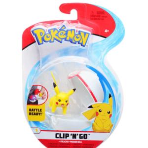 Pokemon clip n go set pikachu