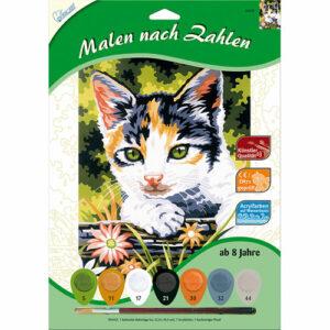 Malen nach Zahlen Katze